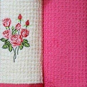 Набор полотенец Grand Stil Цветник Роза б/к