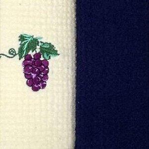 Набор полотенец Grand Stil Виноград синий б/к