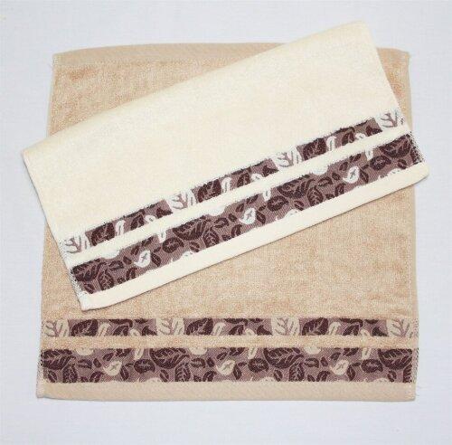 Набор полотенец Grand Stil Листопад какао