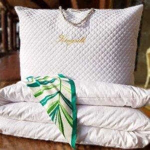 Одеяло Elisabette PREMIUM Kingsilk всесезонное шелковое P-AA-160-1-Bel белое