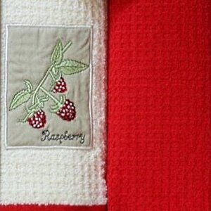 Набор полотенец Grand Stil Малина аппликация б/к